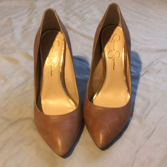 987dbf967c Jessica Simpson Shoes - Jessica Simpson Camel pumps